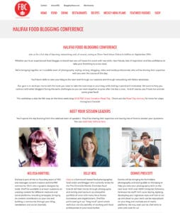 Kelly Neil Food Bloggers Of Canada Halifax Conference Panel Speaker