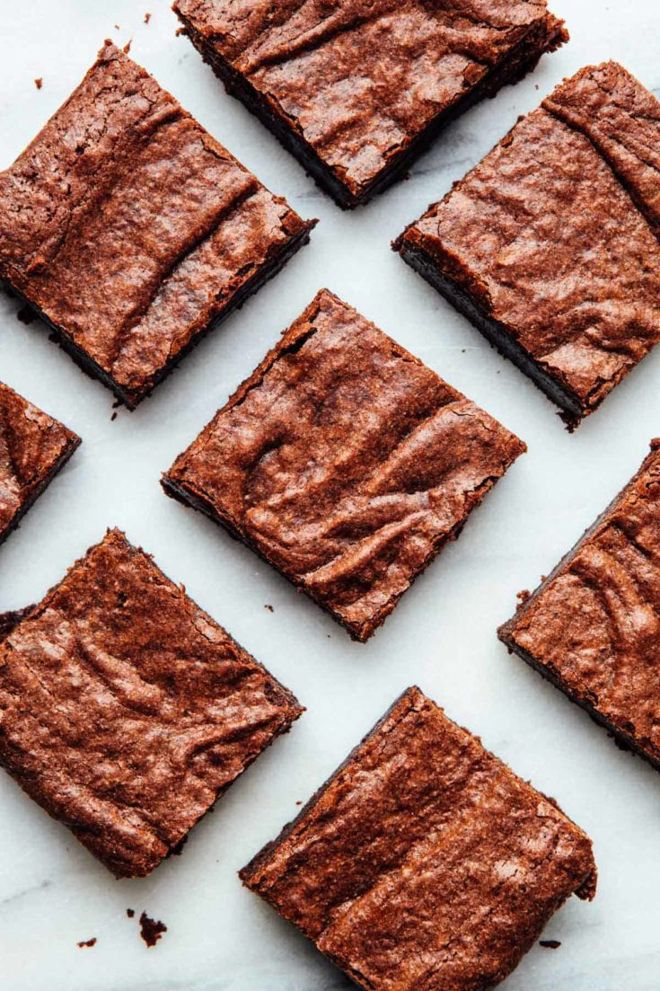 Double Chocolate Buckwheat Brownies (gluten-free)